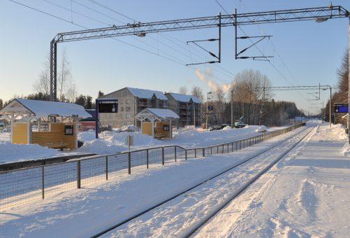 Rantaradan varrelle valmistuu Siuntion aseman läheisyyteen kaksi yhteensä 50 laadukkaan asunnon vuokrakerrostaloa.