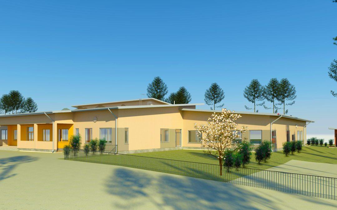 Raaseporin ensimmäinen kaksikielinen koulu- ja palvelukeskus nousee Mustiolle