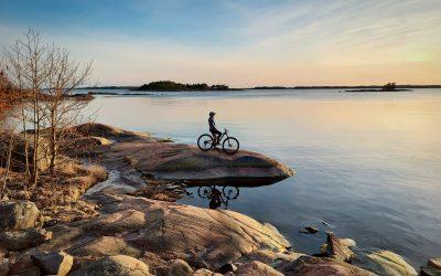 I framtiden kan du börja cykelsemestern på Ingå station
