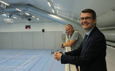 Siuntion monitoimihallin remontti parantaa liikuntamahdollisuuksia aseman seudulla
